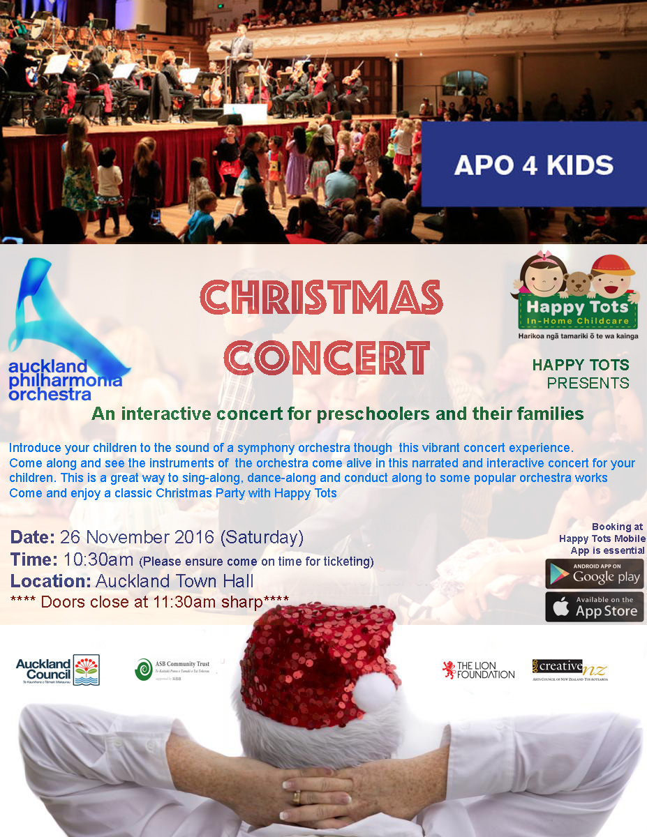 happy tots christmas concert  click here for parking information
